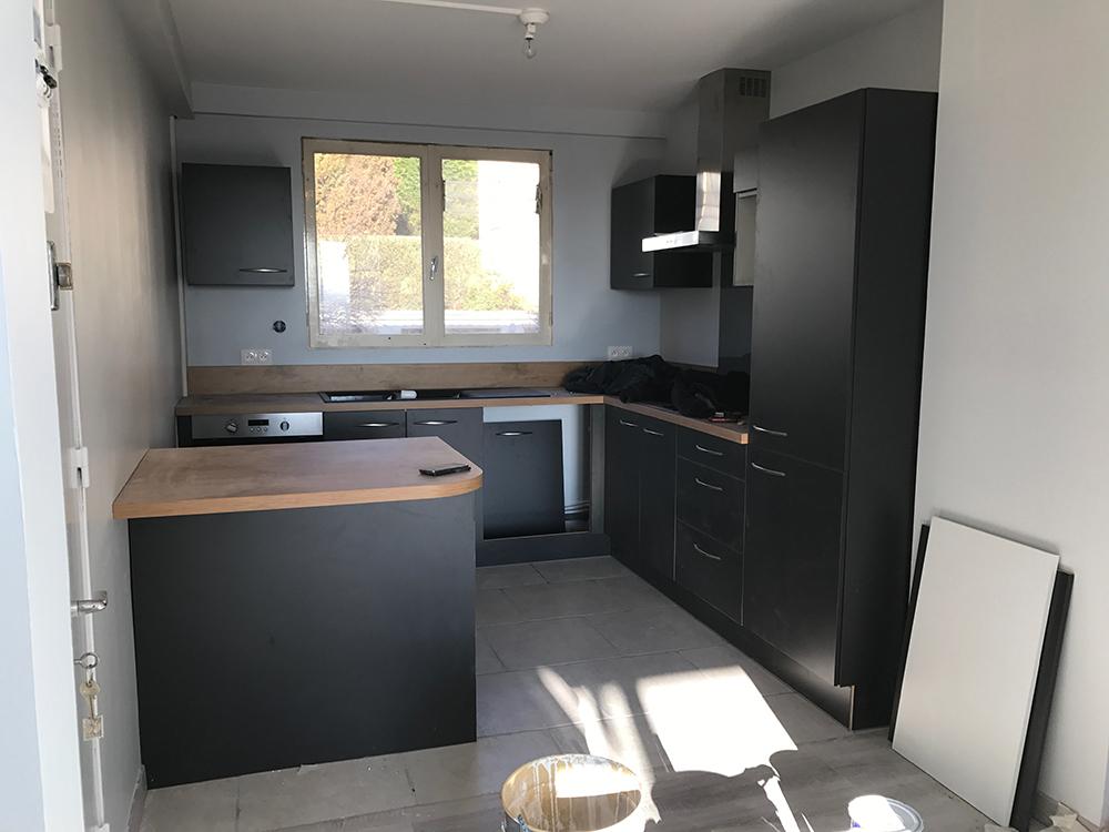 Rénovation appartement complet Rouen Normandie