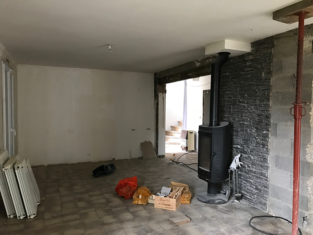 Rénovation d'une maison aux Essarts près de Rouen (76)