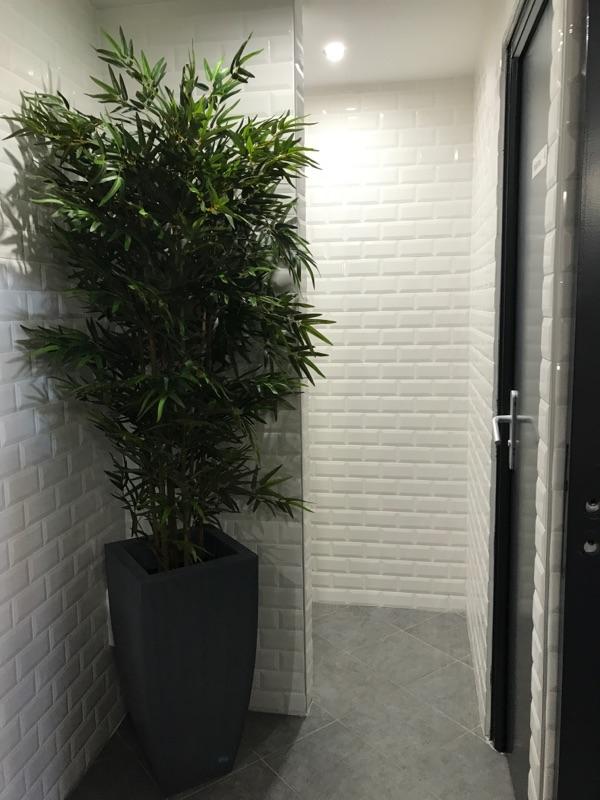 Rénovation complète des toilettes du restaurant la boucherie à Rouen